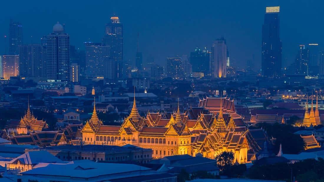شهر العسل في بانكوك تايلاند