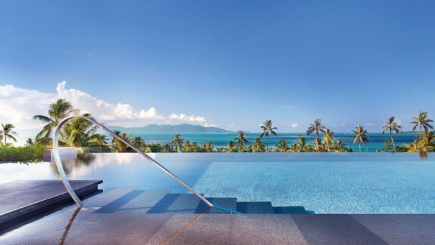 حمام السباحة المطل عالمحيط - فندق دبليو ريتريت