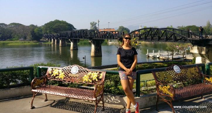 جسر خواي على نهر خواي ياي في كانشانابوري