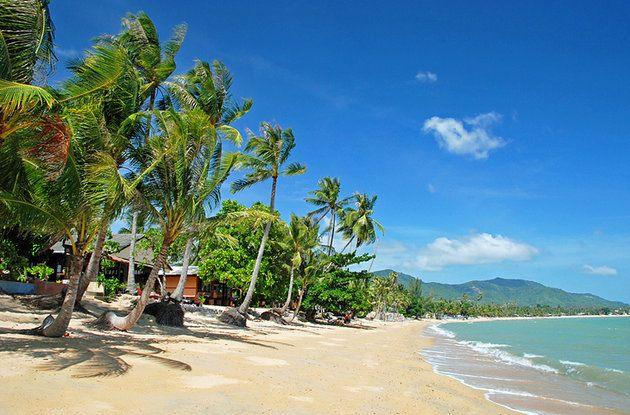 جزيرة كوه بانجان في كوه سامواي