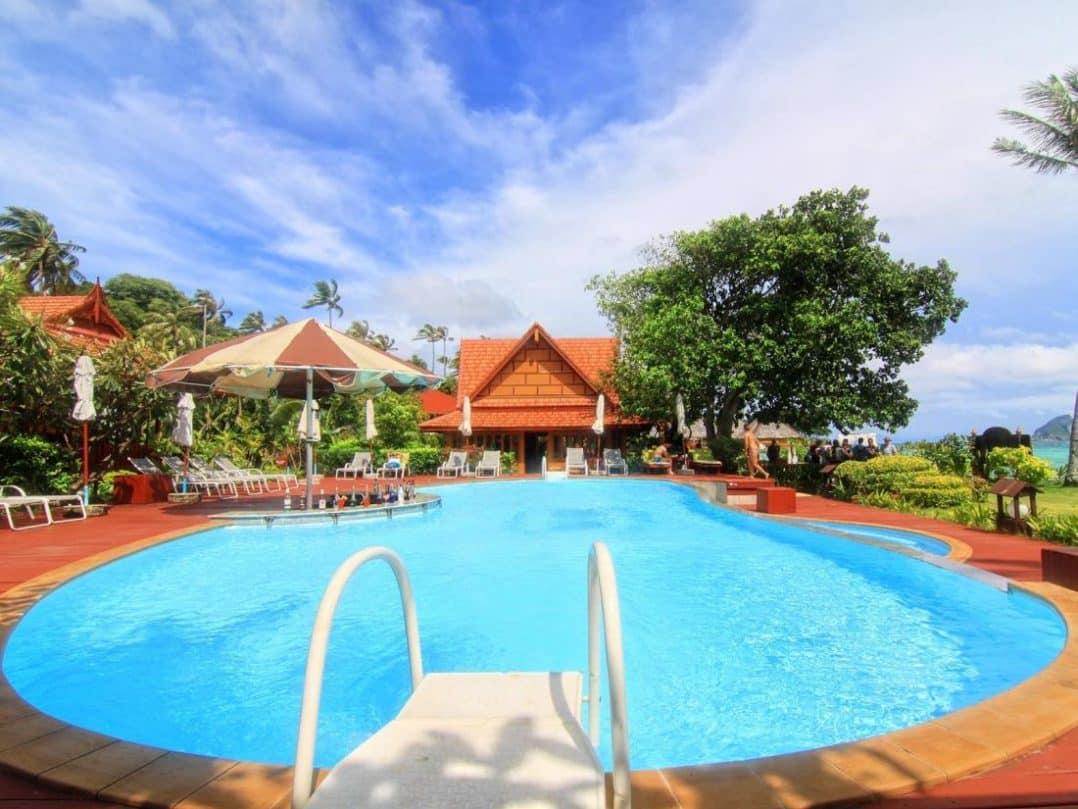 منتجع بي بي إراوان بالمس ريسورت P. P. Erawan Palms Resort