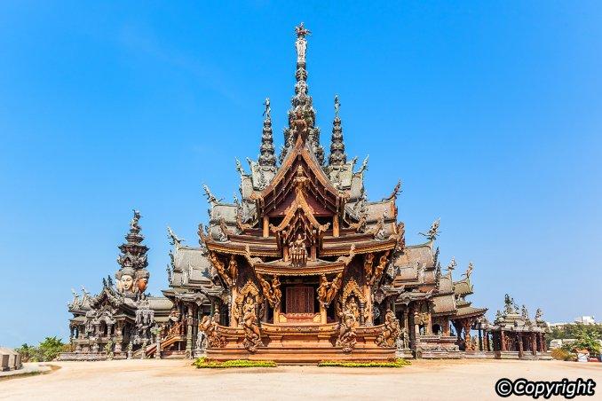 حرم الحقيقة - بانغلامونج- Sanctuary of Truth- Banglamung
