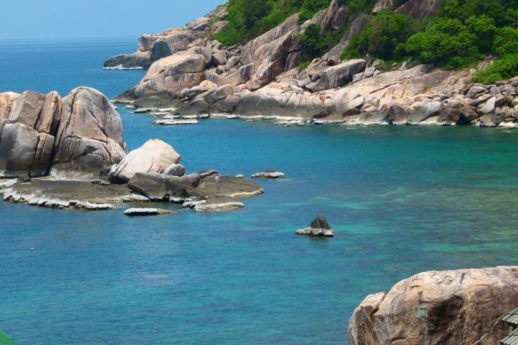 خليج تانوت في جزيرة كوه تاو