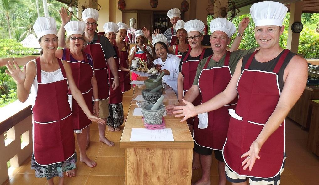 دروس الطبخ التايلاندية في تايلاند