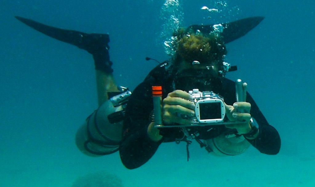 التصوير تحت الماء وتصوير الغوص
