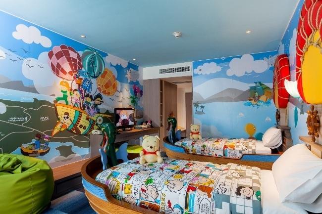 غرف الأطفال المبهجة منتجع هوليداي إن