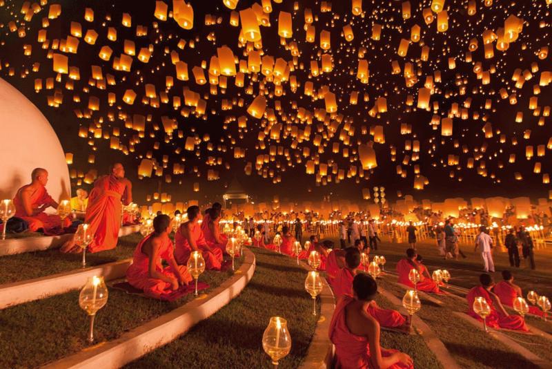 مهرجان يي بينغ- Yi Peng - المهرجانات التايلندية