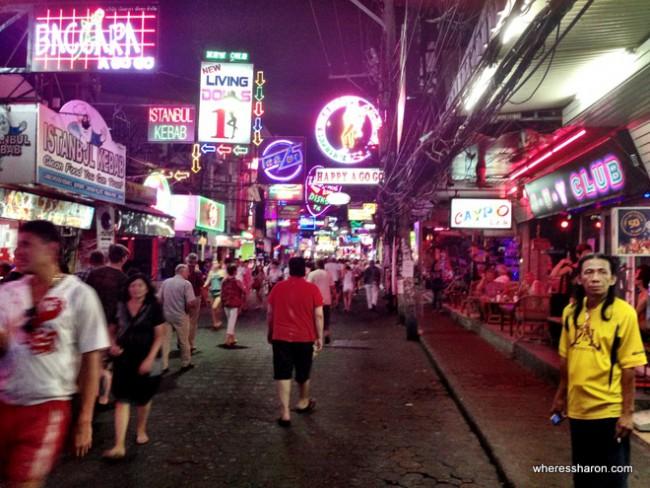 شارع المشاة - باتايا أماكن سياحية للعوائل في بتايا